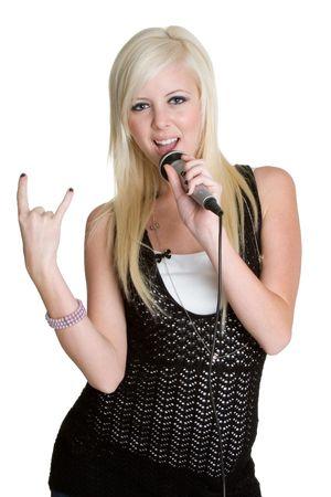 kareoke: Blond Rocker Chic
