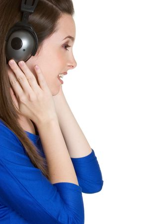 Headphone Girl Stock Photo - 3014981