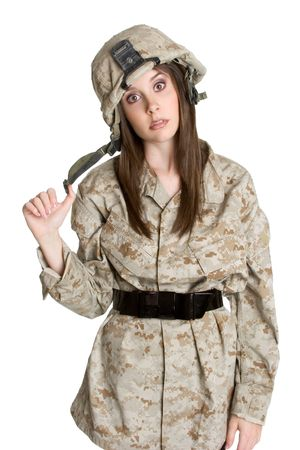 Dumbstruck Soldier Stock Photo - 3014979