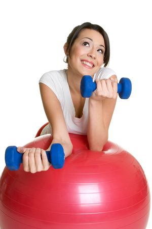 Happy Workout Girl Stock Photo - 3014969