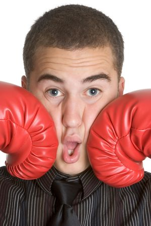 Punching Man Stock Photo - 3014974
