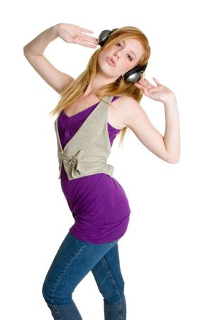Dancing Music Woman Stock Photo - 3058576