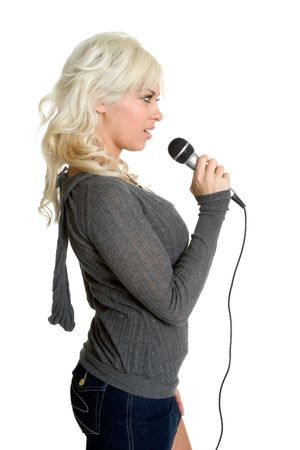 kareoke: Singing Blond