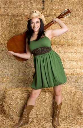 country girl: Une fille de  Banque d'images