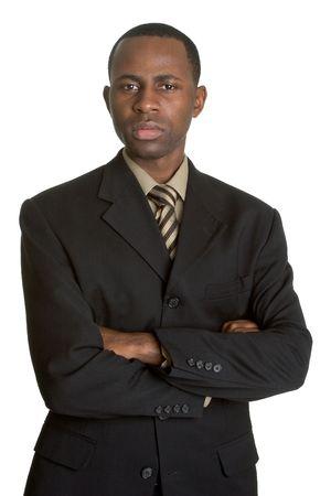 Stern Businessman photo
