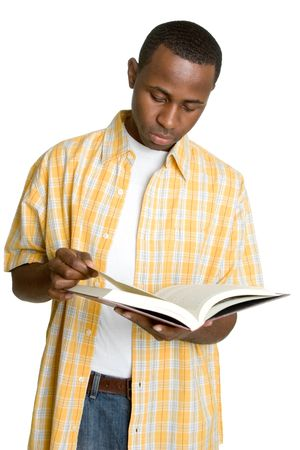 Man Reading Book Stock Photo - 3059445
