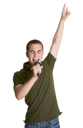 kareoke: Boy Rocking Out