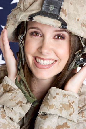 Smiling Soldier Stock Photo - 3083921
