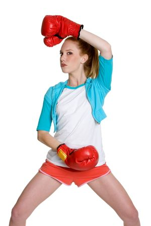 Kick Boxer Stock Photo - 3107333