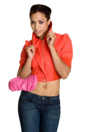 Sexy Fashion Woman Standard-Bild