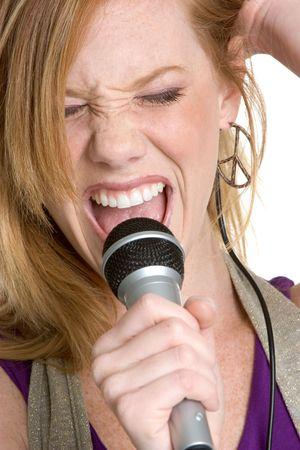 rockstars: Singing Redhead