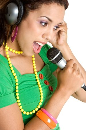 African American Singer Stock Photo - 3107382