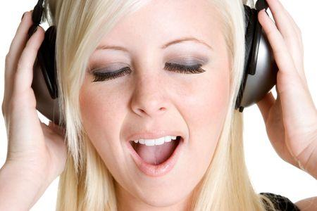 Singing Girl Stock Photo - 3107378