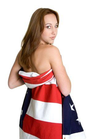 American Girl Stock Photo - 3107369