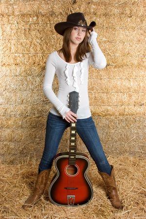 Country Music Girl Stock Photo - 3199737