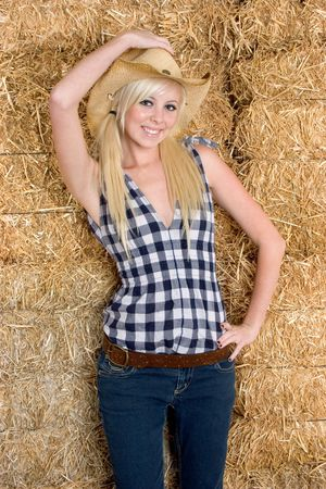 Cowgirl photo