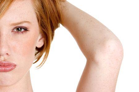 Pouting Redhead