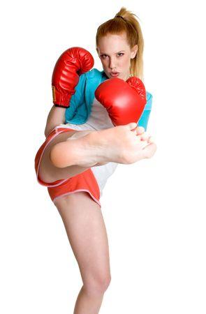 Kick Boxing Teen photo