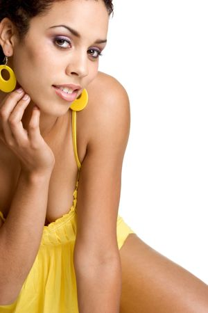 Sexy African American Woman Stock Photo