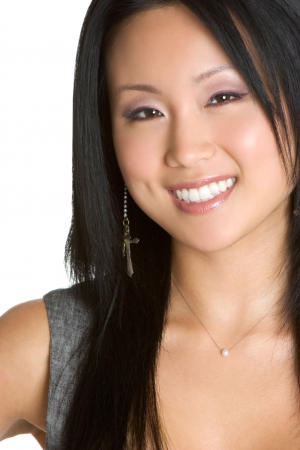 Smiling Asian Woman photo