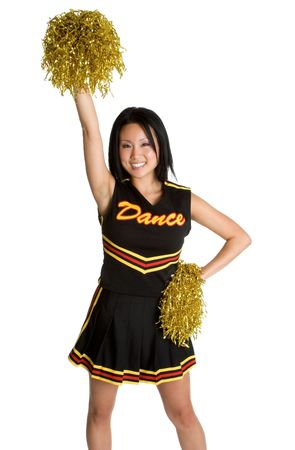Asian Cheerleader photo