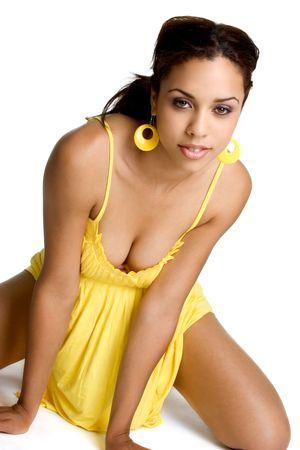 Pretty African American Woman photo