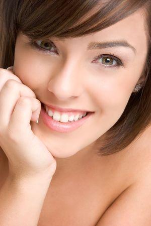 Beautiful Woman Smiling Stock Photo - 3307624