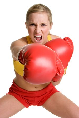 Teenage Boxer Stock Photo - 3307628
