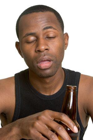 alcoholic man: Drunk Man