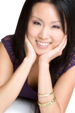 Smiling Asian