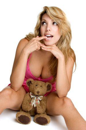 Teddy Bear Girl Stock Photo - 3307689