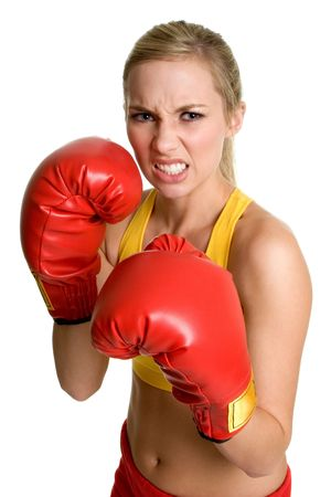 Boxing Girl photo