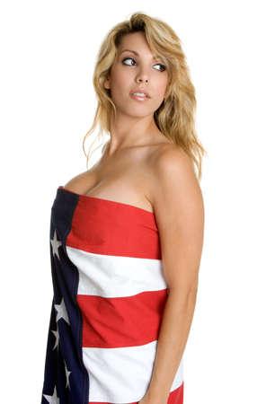 American Woman Stock Photo - 3279072