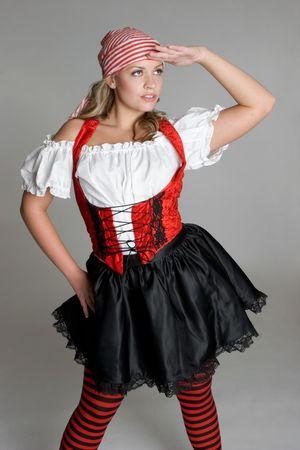 mujer pirata: Pirata