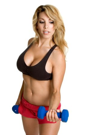 Woman Working Out Stock Photo - 3320500