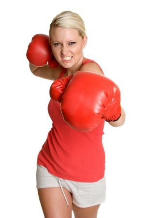 Boxing Teen Stock Photo - 3320524