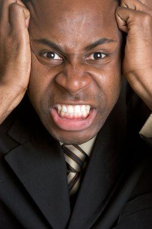 empresario enojado: Angry Empresario  LANG_EVOIMAGES
