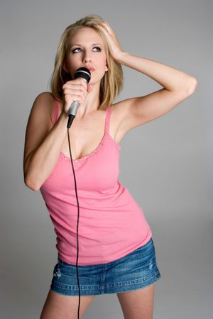 Singer Stock Photo - 3430713