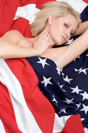 Blond American Girl Stock Photo - 3349189