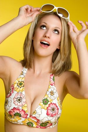 Pretty Summer Girl Stock Photo - 3375130