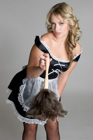 french maid: French Maid Costume