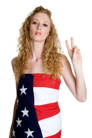 adolescent sexy: American Peace Woman