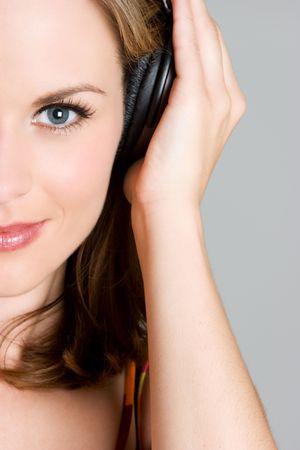 Music Listening Girl Stock Photo - 3455020