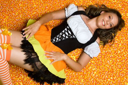 Candy Woman Stock Photo - 3474808