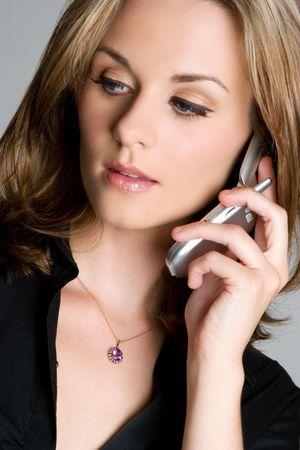 Phone Businesswoman Stock Photo - 3474806