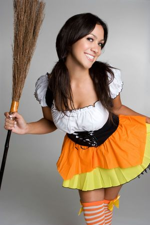 Pretty Witch Stock Photo - 3474810