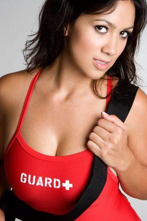 Beautiful Lifeguard Stock Photo - 3540622