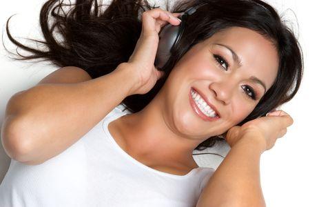 Smiling Music Girl Stock Photo - 3540629