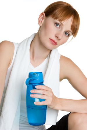 Girl Drinking Water Stock Photo - 3540632