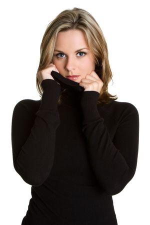 poses de modelos: Invierno Teen  Foto de archivo